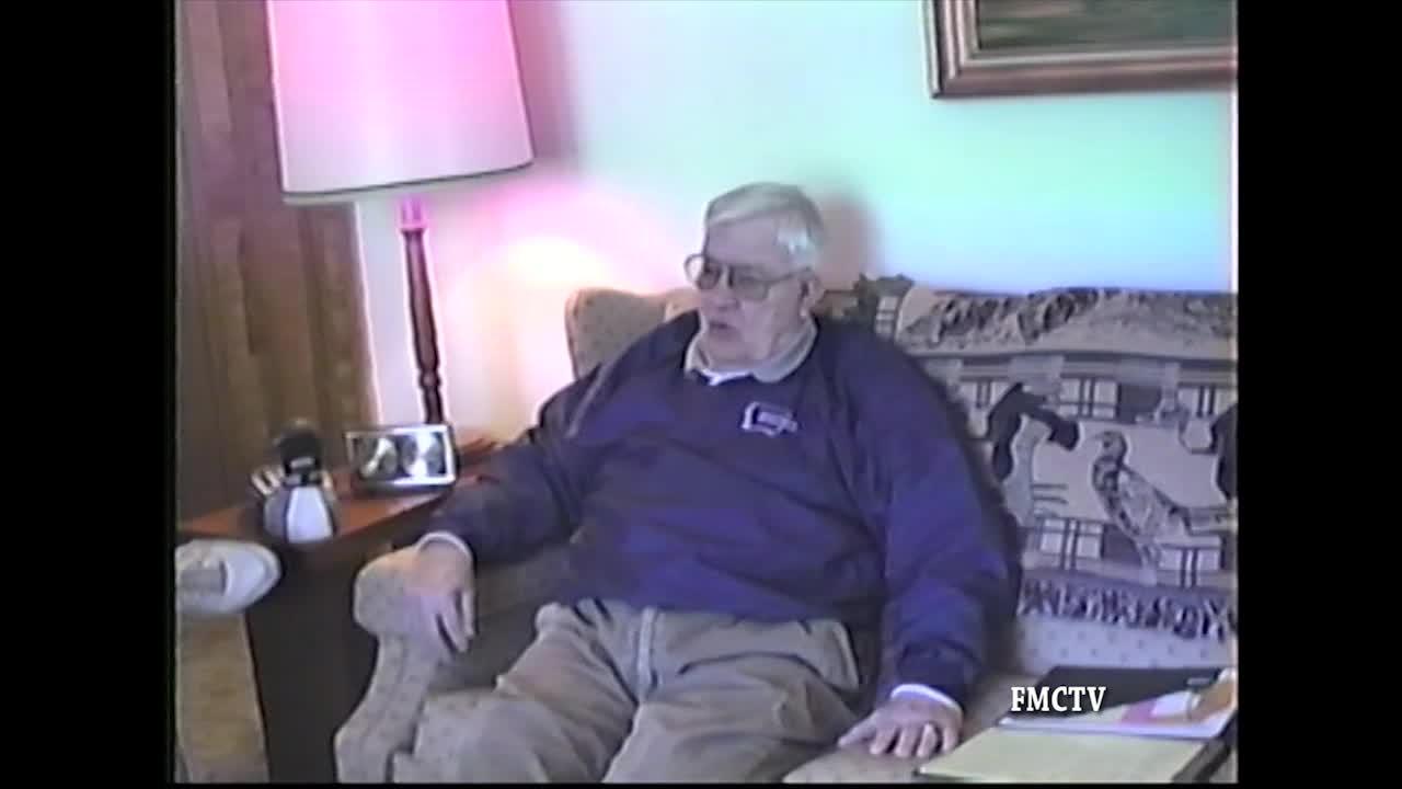 Veteran Interview Swede Johnson 3-4-00