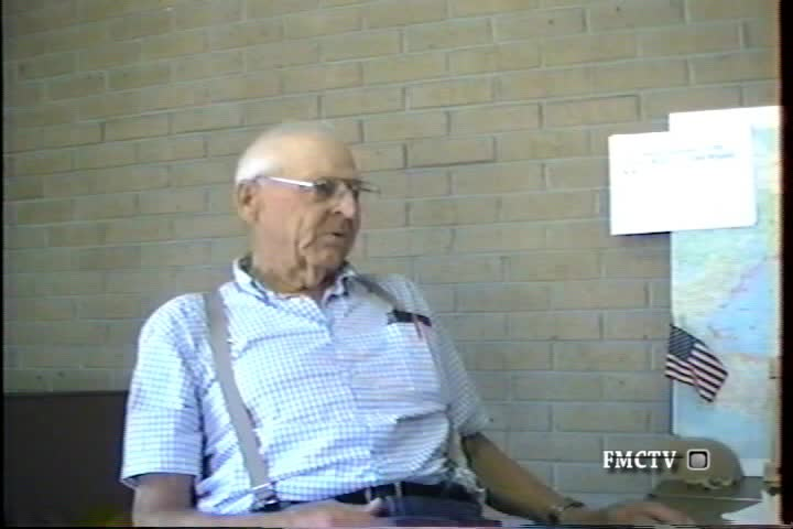 WWII Pacific Veteran Interview Buck Holloway, Art Hibray and Alvin Heller 5-23-08