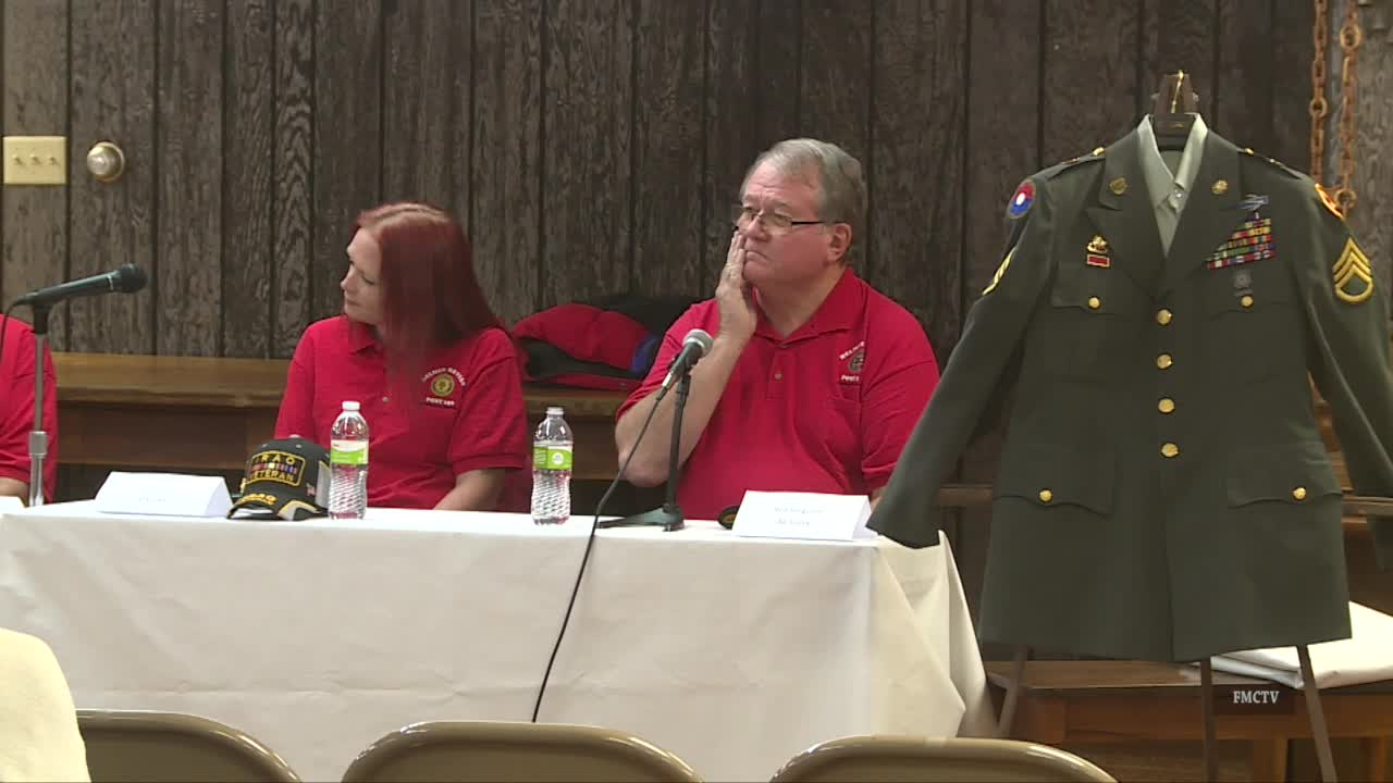 Shelby County Historical Museum Veterans Panel 11-21-19