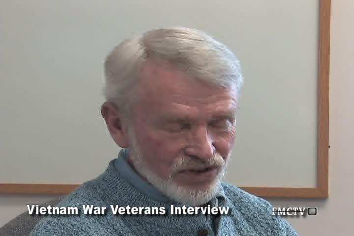 Vietnam War Veteran Interview David Krueger 1-25-11