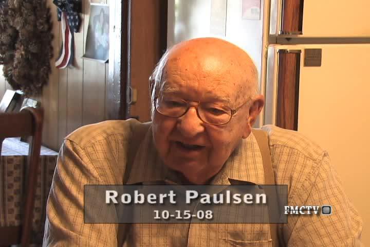 WWII Veteran Interview Robert Paulsen 10-15-08