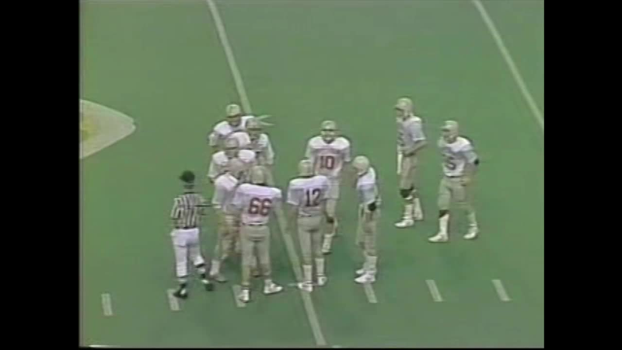 HCHS 14, Waterloo Columbus 13-State Championship Victory in 1984