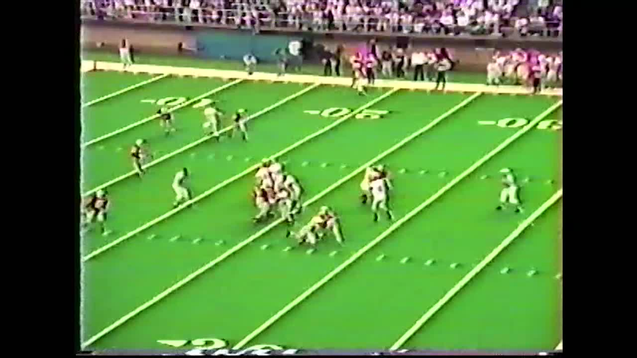 HCHS 34, West Delaware 20-State Championship Victory in 1993