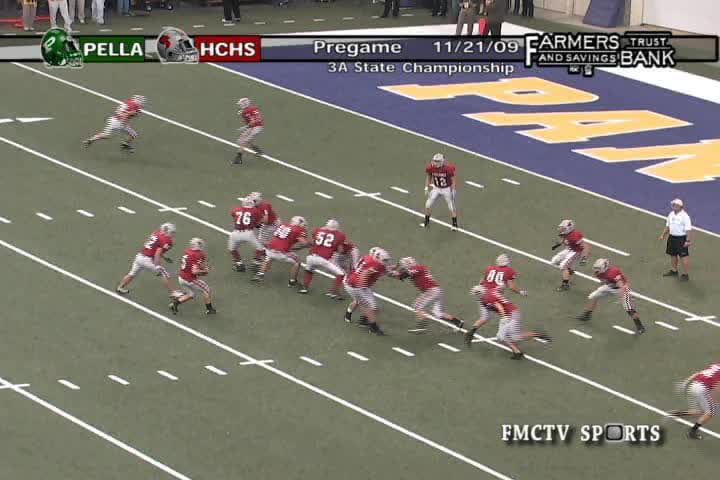 HCHS 35, Pella 14-State Championship Victory in 2009